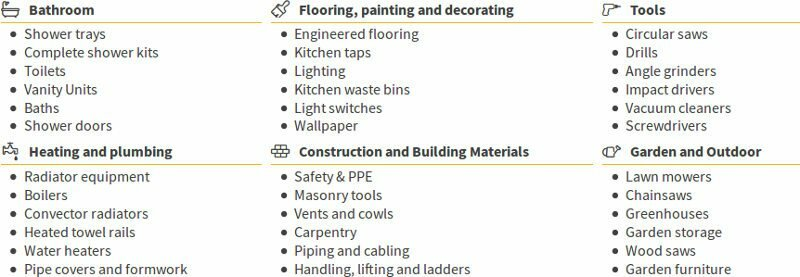 Gardening, electricity, plumbing, decoration, renovation to make yourself: Manomano best products