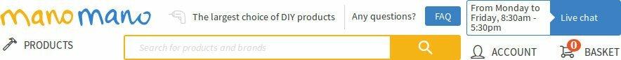 Manomano United Kingdom: buy online DIY equipment, gardening and renovation