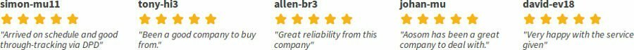 Opinion and customer reviews that testify to the reliability and seriousness of Manomano in England